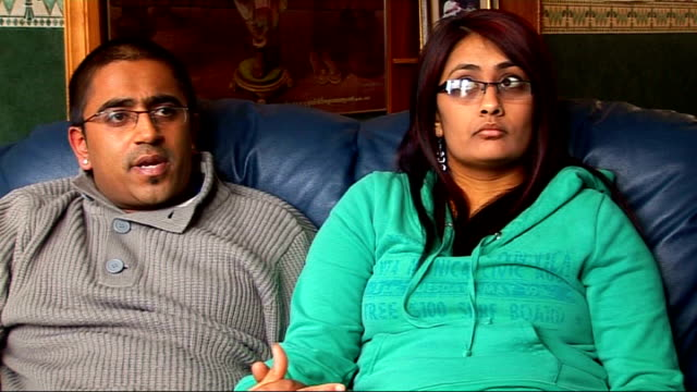 Numbers of people opting to marry dwindle ENGLAND Bolton Manisa and Sid Ragvani interview SOT