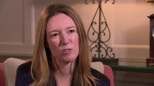 royal wedding of prince harry and meghan markle: interview with dress designer clare waight keller; london: kensington palace: int clare waight... - wedding dress stock videos & royalty-free footage