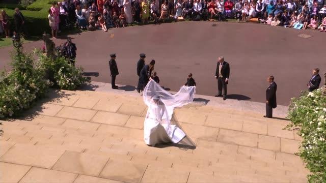 Royal wedding of Prince Harry Meghan Markle ITV News Special Ceremonial Feed 1110 1210 ENGLAND Berkshire Windsor Windsor Castle St George's Chapel...