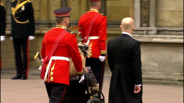 Royal wedding of Prince William and Kate Middleton ITV News Special PAB 0930 1030 STUDIO Julie Etchingham and Philip Schofield Nick Clegg MP arrival...