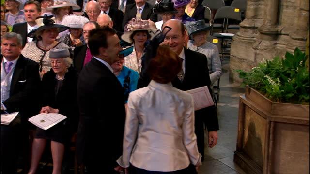 Royal wedding of Prince William and Kate Middleton ITV News Special Ceremonial Feed 0900 1000 INT Julia Gillard entering Abbey and making way to seat...