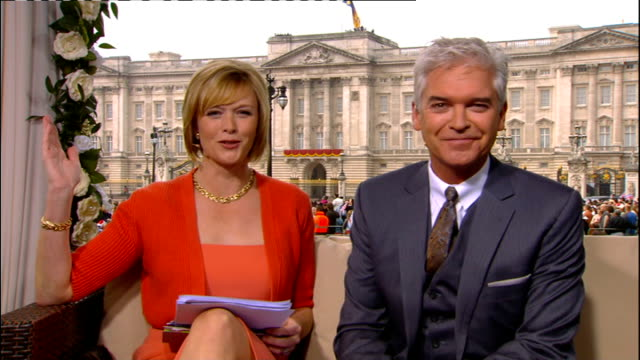 Royal wedding of Prince William and Kate Middleton ITV News Special PAB 0825 0930 STUDIO Julie Etchingham and Philip Schofield Nina Hossain from Hyde...