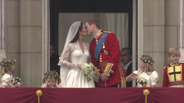 royal wedding wrap with music london uk - prince william stock videos & royalty-free footage