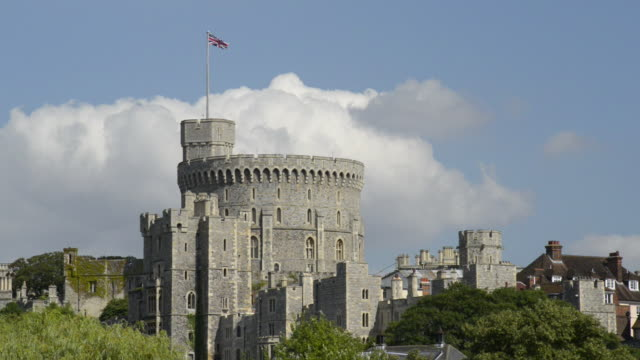 royal windsor castle - berkshire england stock videos and b-roll footage