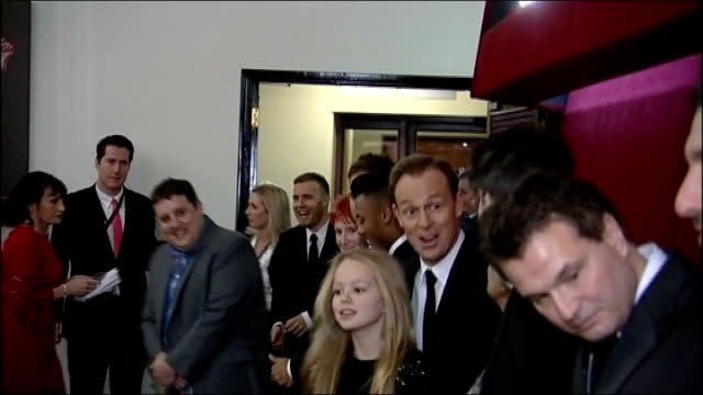 Royals attend concert hosted by Gary Barlow ENGLAND London Royal Albert Hall PHOTOGRAPHY** Guests waiting including Jason Donovan Marcus Collins Olly...