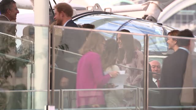 Royals ride on London Eye as part of Heads Together campaign ENGLAND London EXT Prince William the Duke of Cambridge Prince Harry catherine Duchess...
