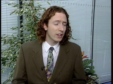 countess of wessex fur hat scandal; itn england: london: int andrew butler interviewed sot - she's making a statement that she doesn't care about... - sophie rhys jones, countess of wessex stock videos & royalty-free footage