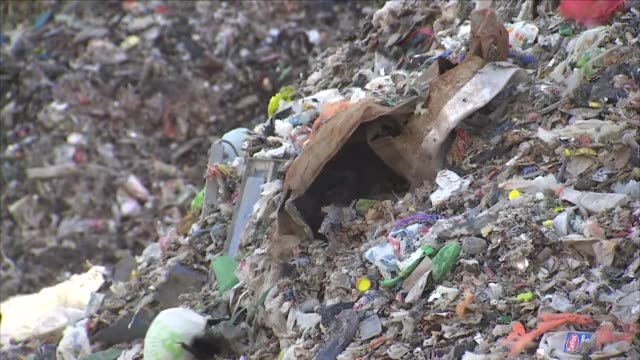 rubbish and waste at a rubbish dump - landfill stock videos & royalty-free footage