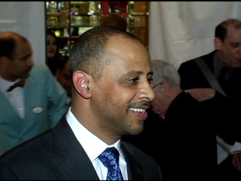 ruben santiago hudson at the 2005 national board of review of motion pictures awards ceremony at tavern on the green in new york new york on january... - tavern on the green stock videos & royalty-free footage