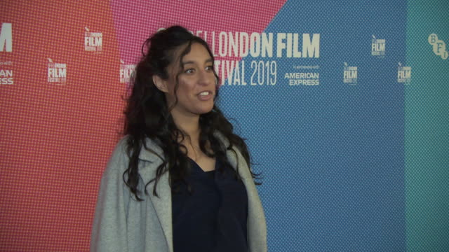 rubika shah at bfi london film festival awards on october 12 2019 in london england - the times bfi london film festival stock videos & royalty-free footage