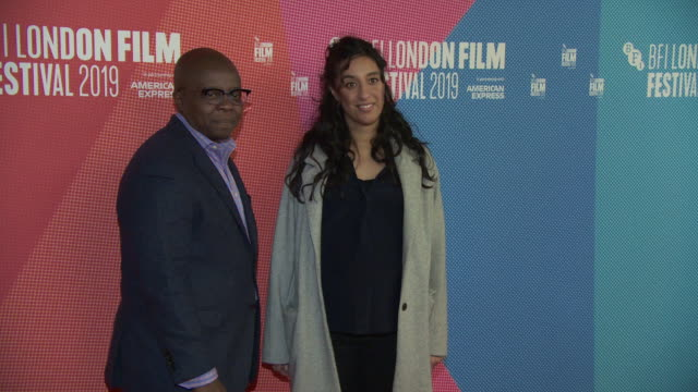 rubika shah yance ford at bfi london film festival awards on october 12 2019 in london england - the times bfi london film festival stock videos & royalty-free footage