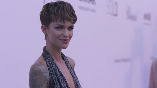 f07503f43a97 SLOMO Ruby Rose at amfAR Gala Cannes 2018 at Hotel du CapEdenRoc on May 17  2018