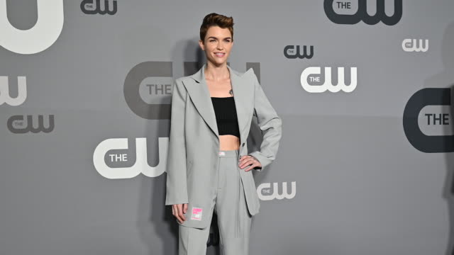 Ruby Rose at the 2019 CW Network Upfront at New York City Center on May 16 2019 in New York City