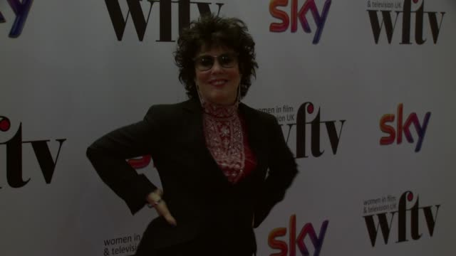 ruby wax at the sky women awards at london hilton on december 06 2013 in london england - ruby wax stock-videos und b-roll-filmmaterial