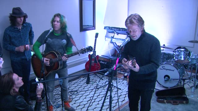 performance rudderless at grey goose blue door hosts rudderless party during sundance film festival on in park city utah - park city utah video stock e b–roll