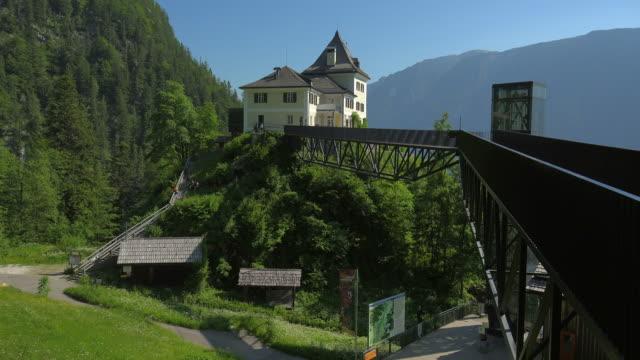 rudolfsturm, hallstatt salt mine, hallstatt, salzkammergut, upper austria, austria - salzkammergut stock videos and b-roll footage