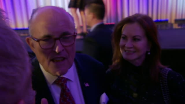 rudy giuliani saying that people had enough of the rotten government in washington and that new president donald trump can drain the swamp fix it and... - drain stock videos & royalty-free footage