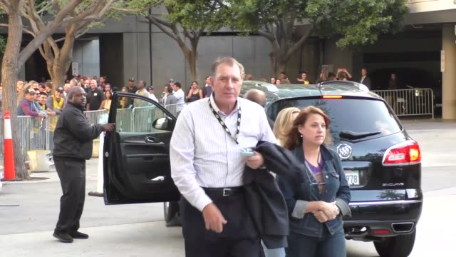 Rudy Tomjanovich arriving to see Kobe Bryant's final game at Staples Center in Los Angeles Celebrity Sightings on April 13 2016 in Los Angeles...