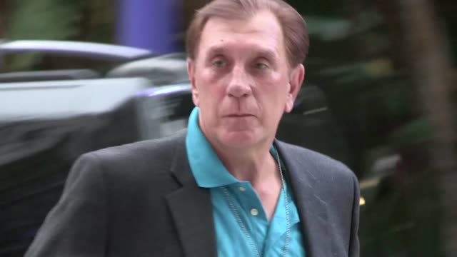 rudy tomjanovich greets fans at staples center in los angeles 05/01/12 rudy tomjanovich greets fans at staples center in on may 01 2012 in los... - staples center stock videos and b-roll footage