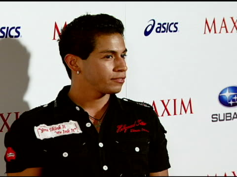 Rudy Youngblood at the Maxim Magazine's ICU Event at Area in Los Angeles California on August 2 2007