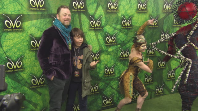 Rufus Hound at 'Ovo Cirque Du Soleil' UK Premiere on January 10 2018 in London England