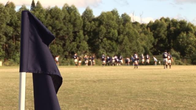 Rugby Match & Flag - HD & PAL