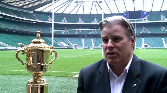 ticket allocation: interviews; gosper interview sot / beaumont as interviewed / debbie jevans as interviewed / television crew interviewing gosper /... - trophy stock videos & royalty-free footage