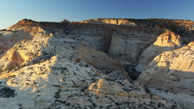 rugged canyon in utah - drone shot - san rafael swell stock videos and b-roll footage