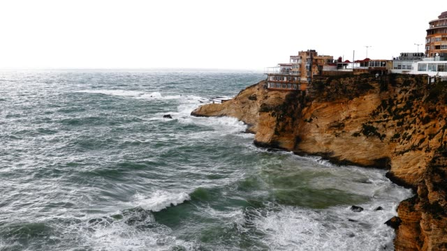 Robuste Küste von Beirut Libanon