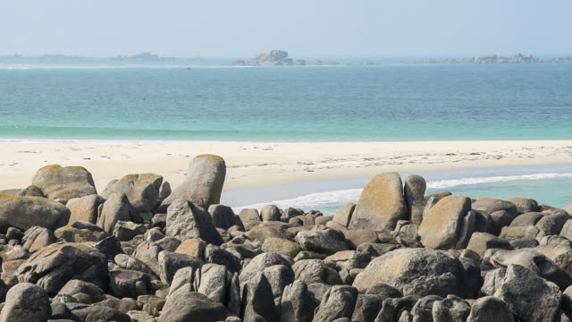 Rugged shoreline , North Finistere coast - Brittany