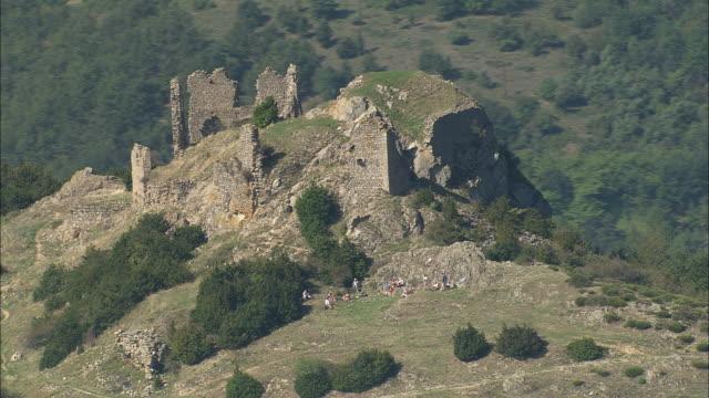 Ruined Chateau De Pierre Gourde