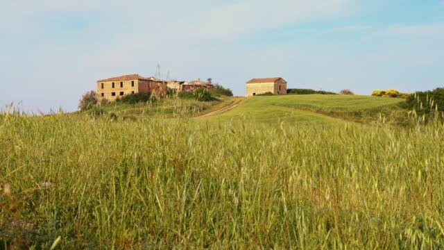 DS Ruins in Tuscany countryside