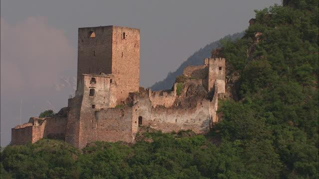 Ruins of castles, Südtirol