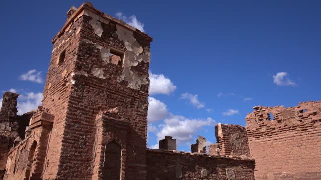 Ruins of historic Berber village