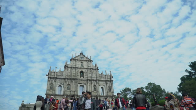 Ruins of st.paul's church in macau city