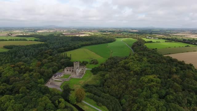 Ruins of Tintern Abbey in County Wexford Ireland