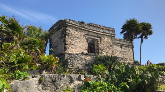 ruins of tulum - tulum mexico stock videos & royalty-free footage