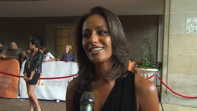 Rula Jebreal on what message she wants the audience to take away from the film and what it means to have the film featured at TIFF at the 2010...