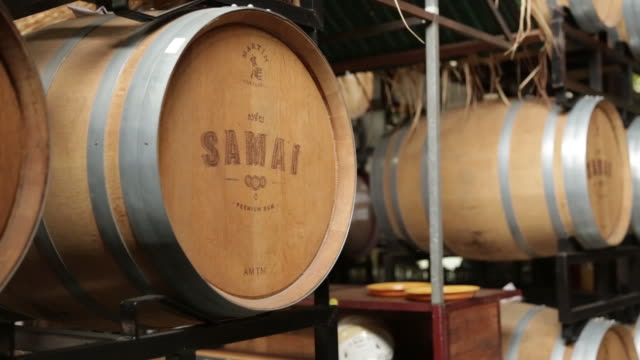 rum production in distillery in phnom penh cambodia on tuesday july 12 2018 - rum stock videos and b-roll footage