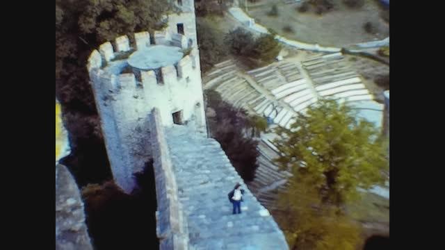 rumelihisarı castle in 70's - istanbul stock videos & royalty-free footage