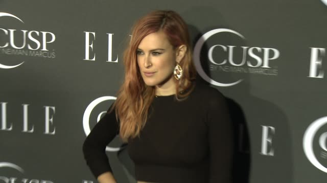 stockvideo's en b-roll-footage met rumer willis at 5th annual elle women in music celebration presented by cusp by neiman marcus at avalon on april 22, 2014 in hollywood, california. - neiman marcus