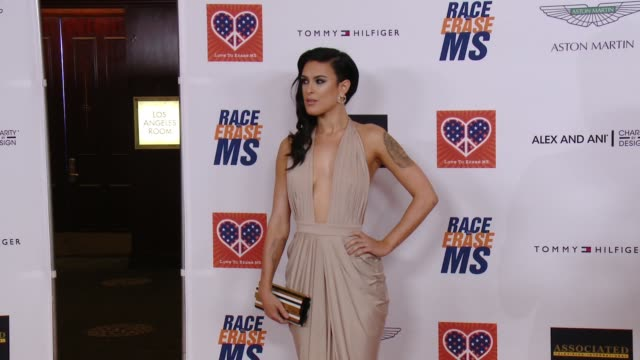 rumer willis at the 22nd annual race to erase ms in los angeles ca - race to erase ms stock videos and b-roll footage
