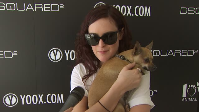Rumer Willis on being a part of the afternoon what she thinks of DSquared2's new canine couture line her dog how she named her dog her daily routine...