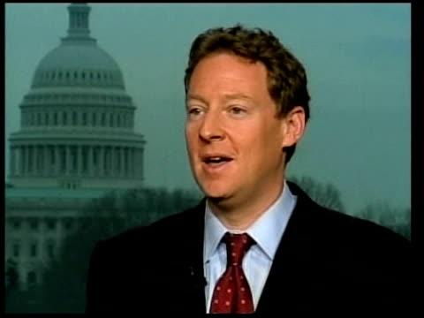 rumours that al gore may run for president again washington dc michael feldman interview sot - al gore stock videos and b-roll footage