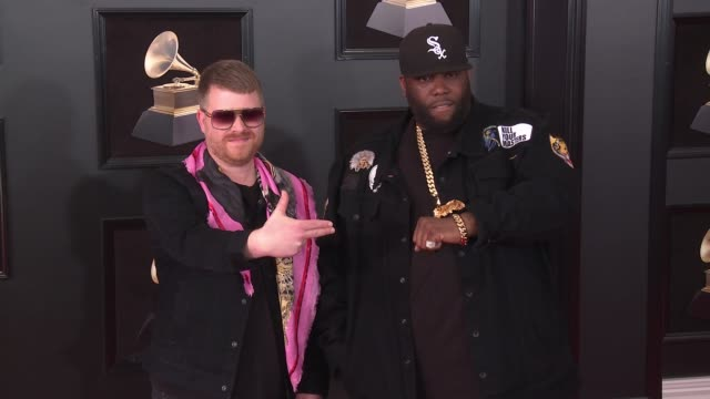 Run the Jewels at 60th Grammy Awards Celebration Party at Madison Square Garden on January 28 2018 in New York City