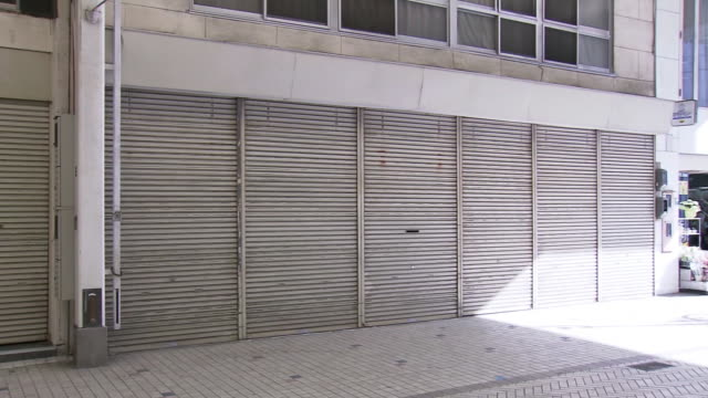 a run-down shopping arcade, ehime, japan - shutter stock videos & royalty-free footage