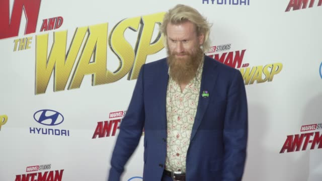Rune Temte at the AntMan and the Wasp World Premiere at the El Capitan Theatre on June 25 2018 in Hollywood California