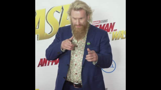Rune Temte at the 'AntMan and the Wasp' World Premiere