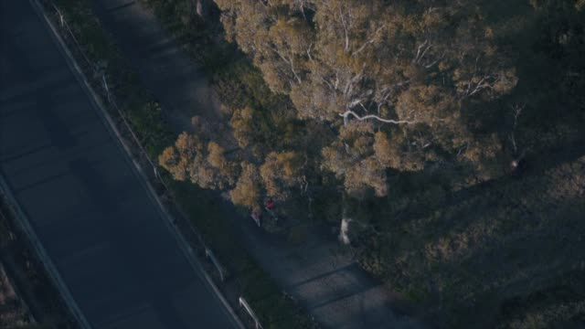 runners in the melbourne suburbs in the morning - suburban stock videos and b-roll footage