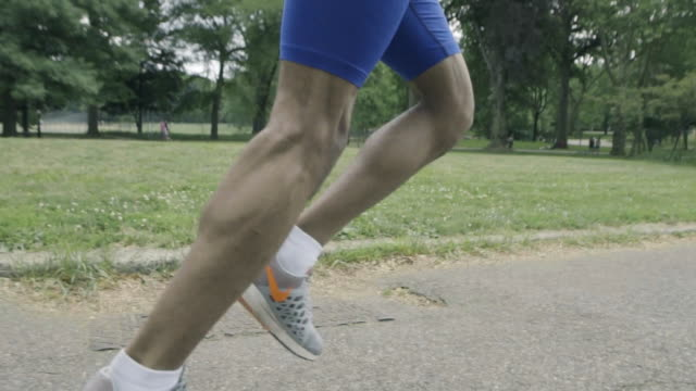 runner's legs - human leg stock videos and b-roll footage